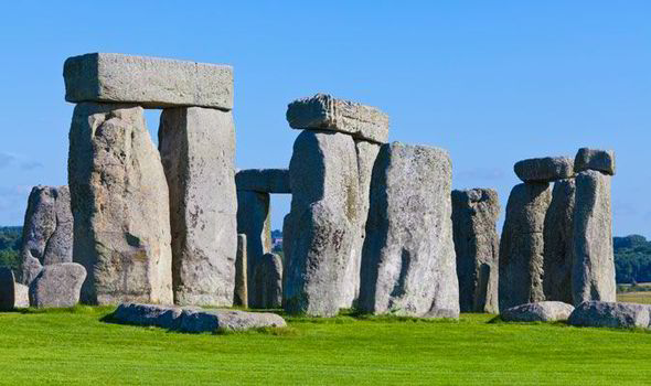 Stonehenge is a prehistoric monument built from gigantic stone slabs around 5000 years ago [GETTY]