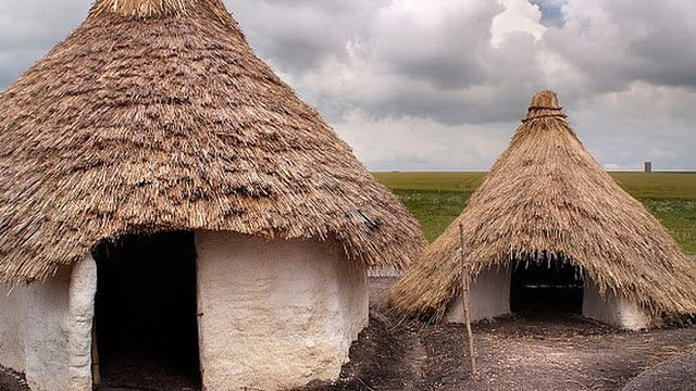 English Heritage Has Opened Five Recreated Neolithic Houses In