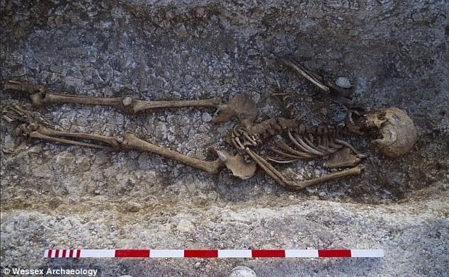 saxon-grave
