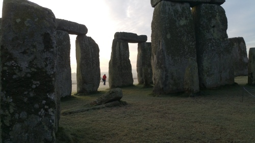 Stonehenge close up