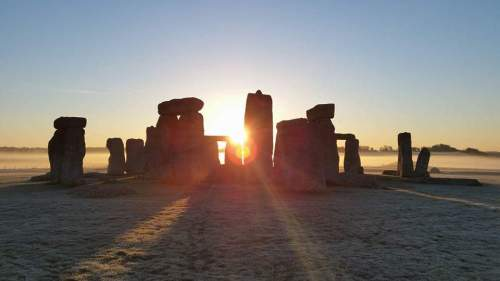 Stonehenge sunrise access tour